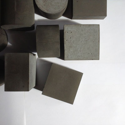 Bespoke Geometric Concrete Sculpture Solids By PASiNGA