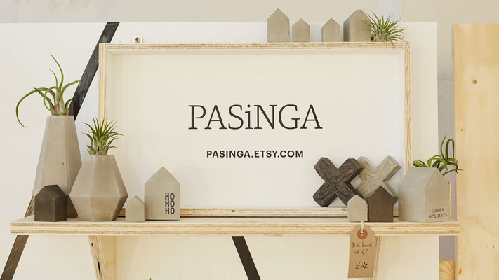 Concrete Sculptures and Air Plant Holder by PASiNGA, image by Yeshen Venema
