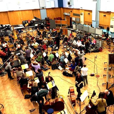2015年11月5日 Abbey Road スタジオにてフルオケのレコーディングプロデュースをやってきました!
