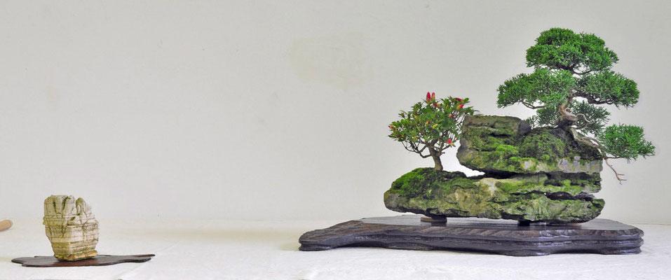 Composizione su roccia - Franco Bergamini