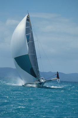 Trimaran Trilogy racing at Airlie Beach Race Week image-01