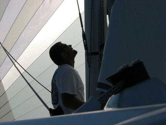 Barefoot 40 catamaran sailing image 5