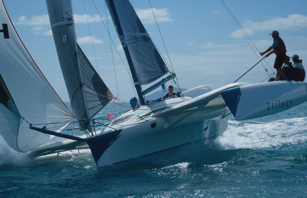 Trimaran Trilogy racing at Airlie Beach Race Week image-02