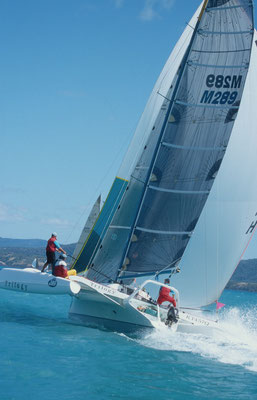 Trimaran Trilogy racing at Airlie Beach Race Week image-03