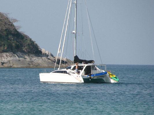 Chincogan 40 Catamaran Captain Jack