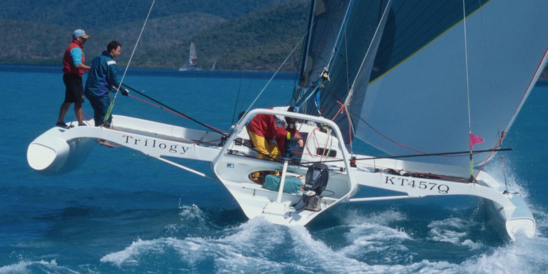 Trimaran Trilogy racing at Airlie Beach Race Week image-06
