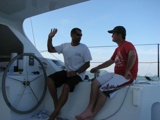 Barefoot 40 catamaran sailing image 7