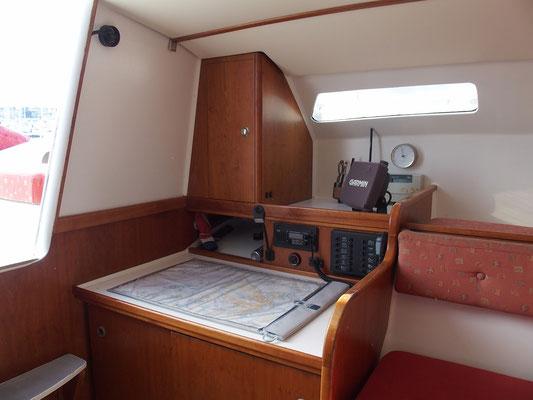 Trimaran Libra Volonte Interior-07
