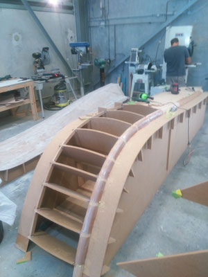 R42 Trimaran Construction Photo-07