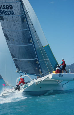 Trimaran Trilogy racing at Airlie Beach Race Week image-04