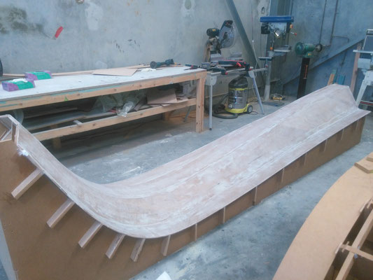 R42 trimaran build photo-02