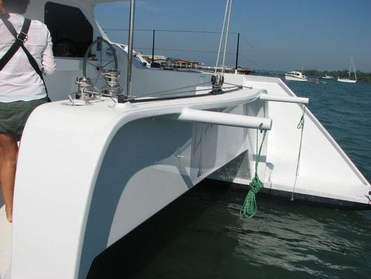 Barefoot 40 catamaran Deck details image-6