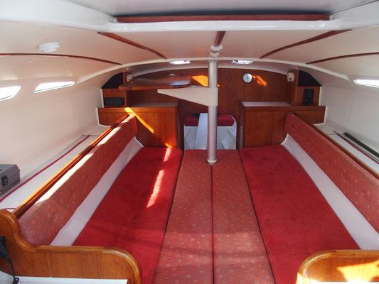 Trimaran Libra Volonte Interior-05