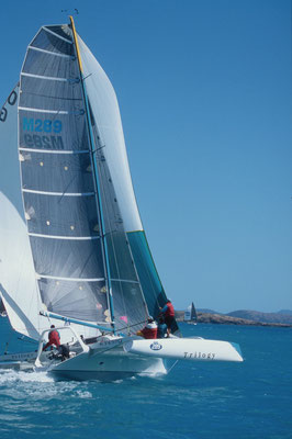 Trimaran Trilogy racing at Airlie Beach Race Week image-05