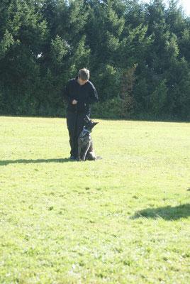 29.09.2012 Team Gabi mit Arwen