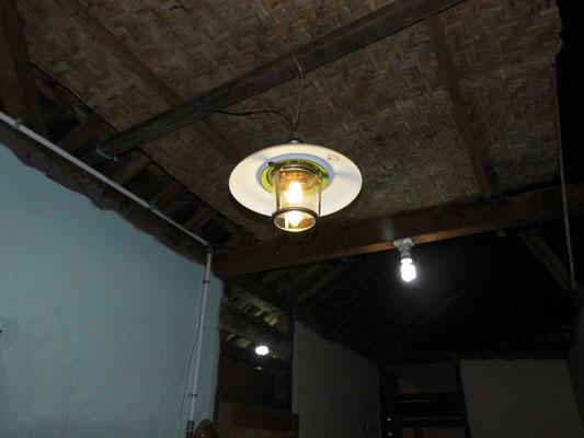 Verlichting met biogas