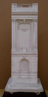 Maquette de la façade du musée, début XXe s., plâtre