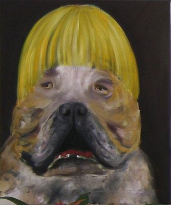 "Ronald Kodritsch,  ""Bastard"", Öl auf Leinwand, 55 x 45cm"
