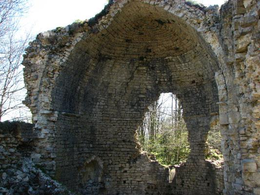 les ruines du monastere