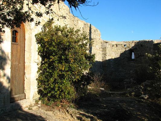 La chapelle de la reparat au col du Pontias