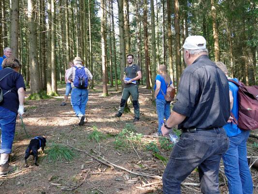 Im Wald kennt sich Martin Graf bestens aus.