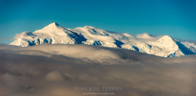 Monte logan, 5.959 m. techo de Canadá.