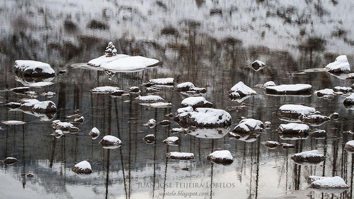 Reflejos en Medicine Lake