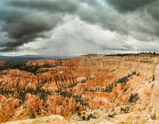 Cielo tormentoso en Bryce