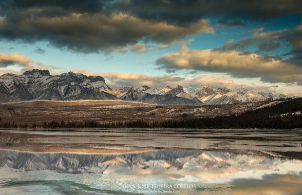 Reflejos en Talbot Lake
