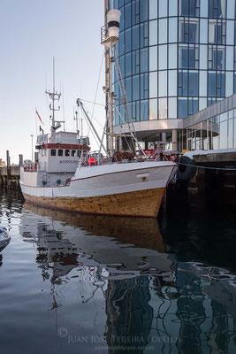 Antiguo ballenero convertido en buque escuela.