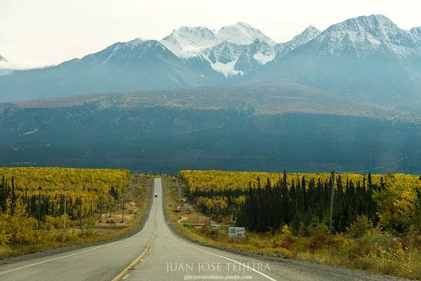 Camino del Yukon.