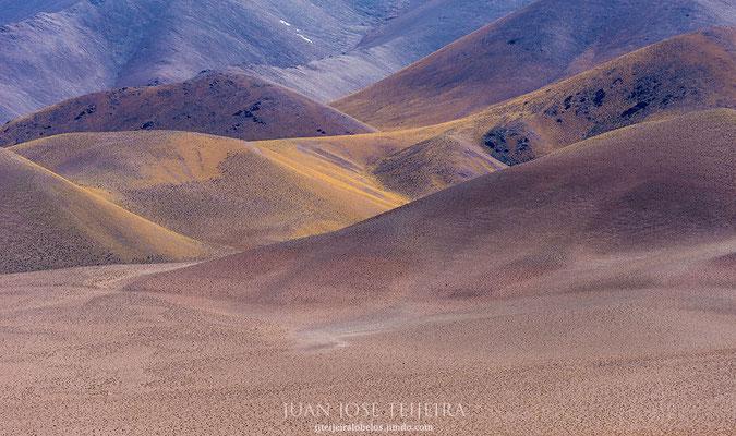 Las tonalidades del paisaje son increíbles.