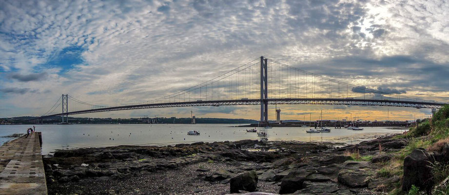 Forth Road Bridge  (North Queensferry) Scotland