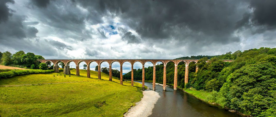 Leaderfoot Viaduct  in the Scottish Borders