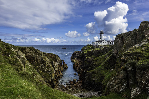 Fanad Head Lighthouse In Donegal Ireland