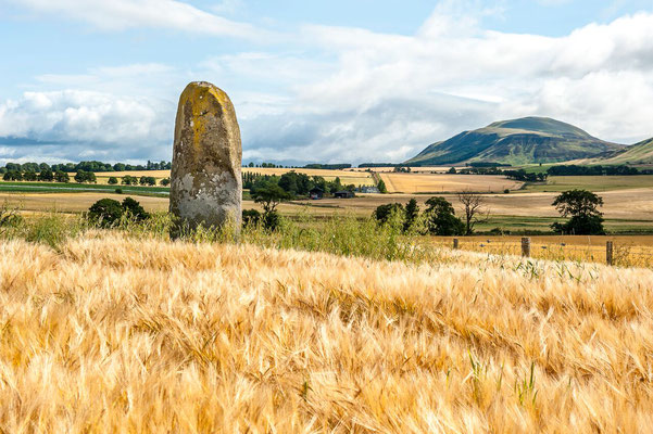 Standing Stone Menhir In Scotland