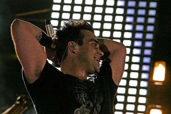 ©Carmen Weder - Robbie Williams im Stade de Suisse, Bern