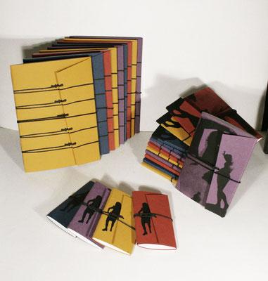 carnets papier sérigraphié