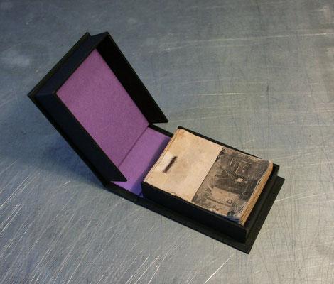 Petit coffret papier pour petit flip-book 19e (7x5 cm)