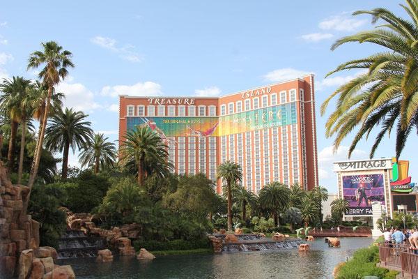 Hotel Trasure Island, Las Vegas