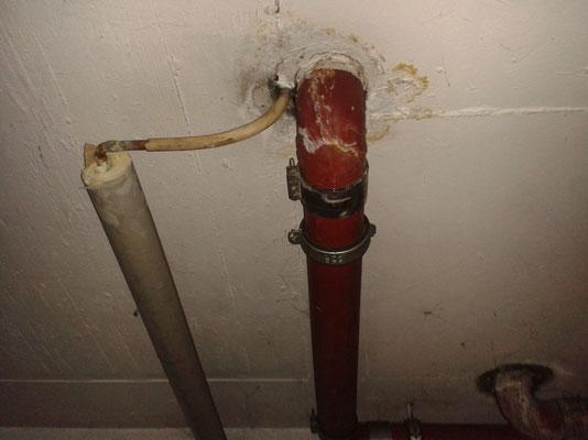 Rohrbruch in Tiefgarage beseitigt