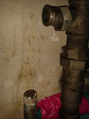 Druckverlust in der Wasserleitung