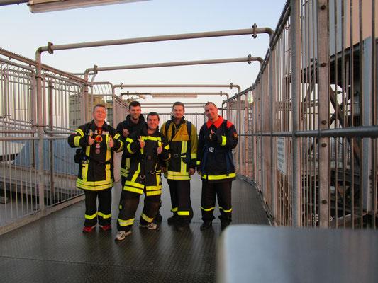 Gruppenbild mit TFA-Team Herne