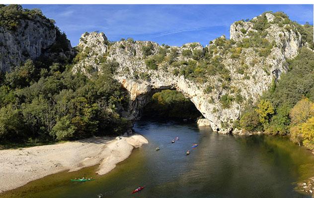 Le pont d'arc & gorges de l'Ardèche Camping à la ferme ardèche