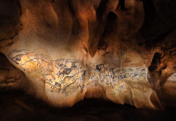 La Grotte CHauvet 2 (45 min du camping à la ferme Ardèche