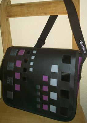 LKW Blachen Tasche Modell Claudia (Quadrat)