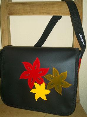 LKW Blachen Tasche Modell Claudia (Blumenmotiv)