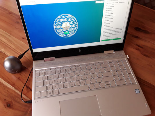 PC-Programm mit Klangei