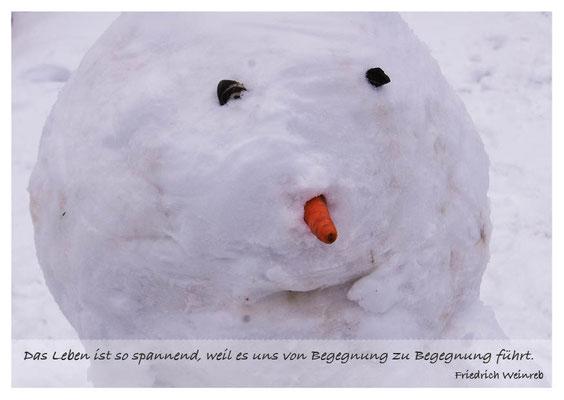 Schneemann - Von Begegnung zu Begegnung  Nr. 158
