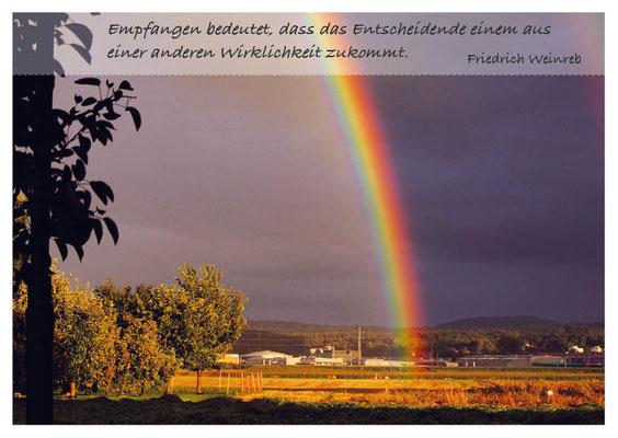 Regenbogen - Empfangen bedeutet... Nr. 152